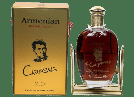 """Коньяк """"чаренц"""" (прошянский коньячный завод, армения): описание, сроки выдержки, отзывы"""