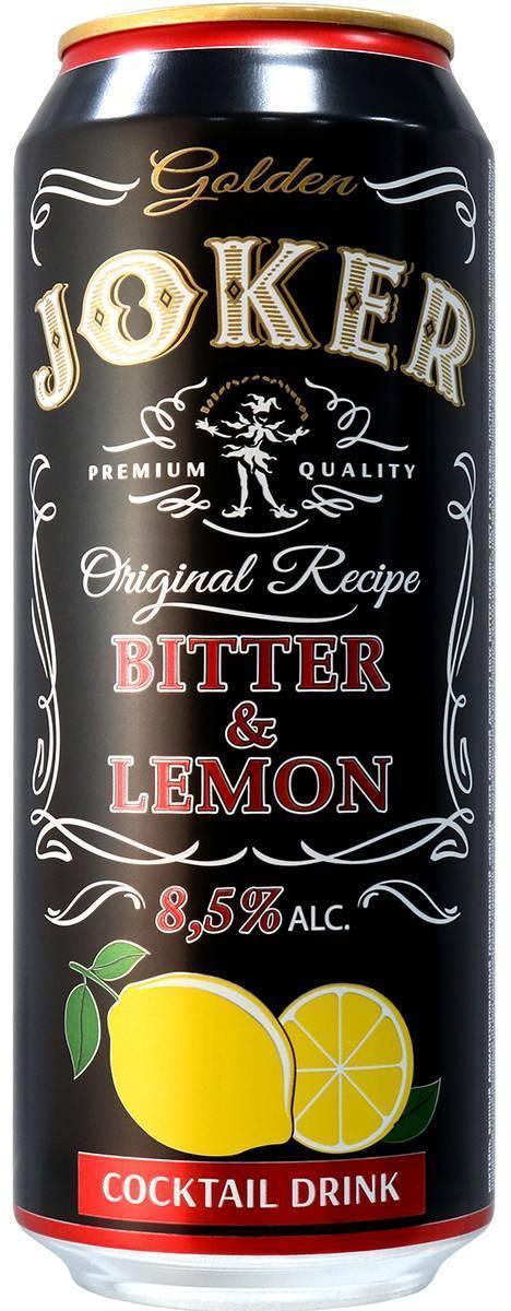 Напиток «джокер»: производство, рецептура, вкус и отзывы