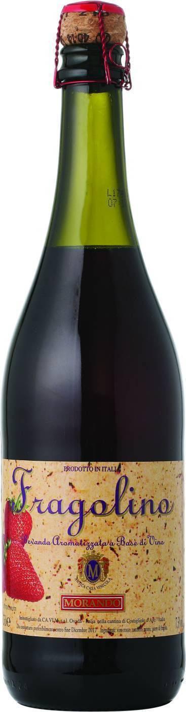 Шампанское фраголино и его особенности