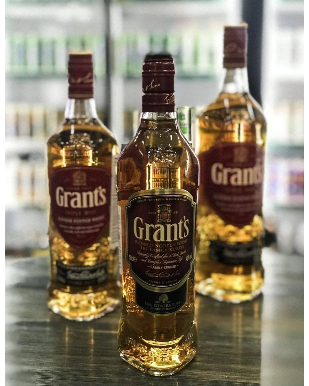 Виски «грантс» в треугольной бутылке: история скотча, виды шотландского напитка, коктейли с grants