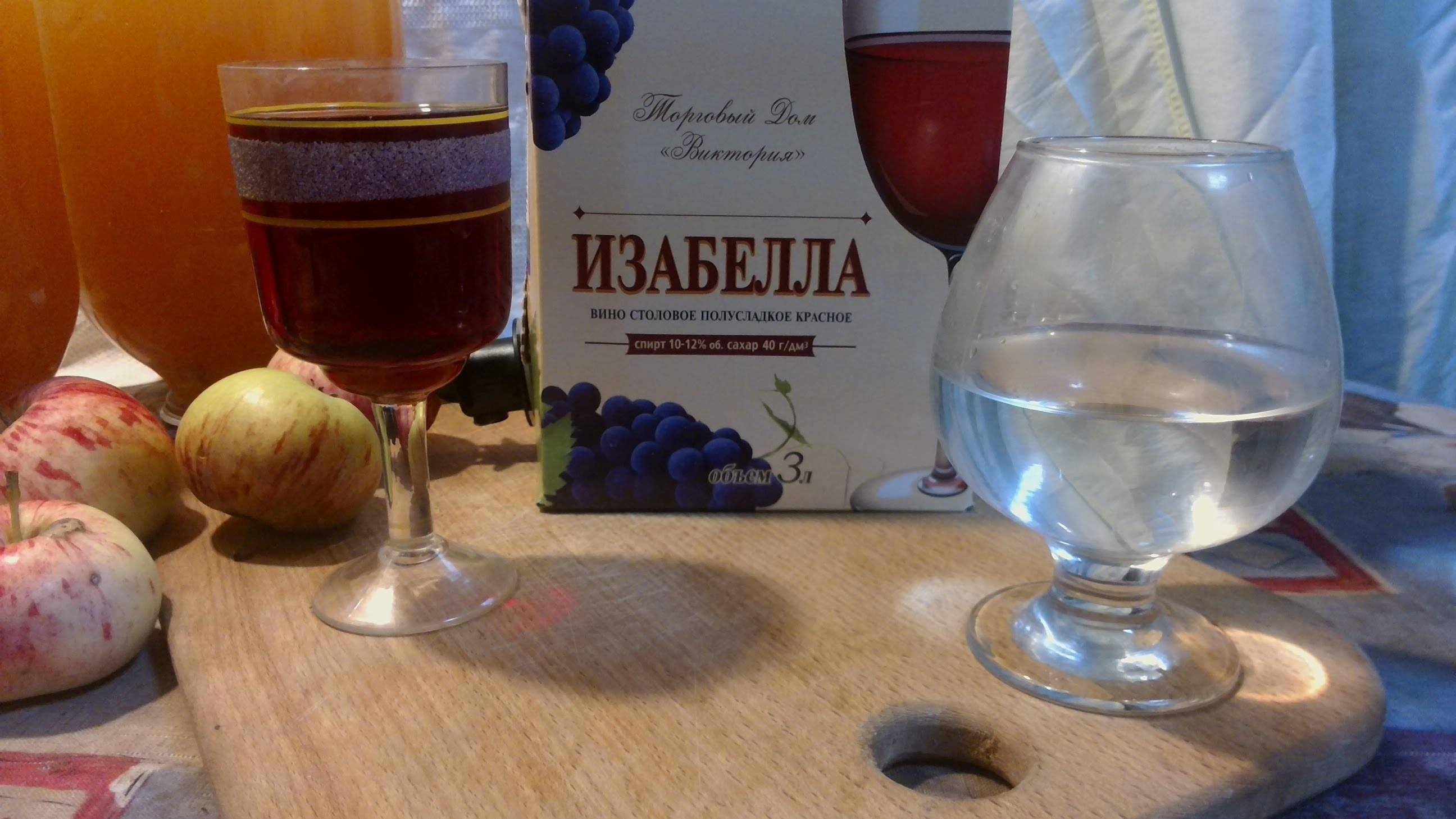 Как сделать самогона из вина