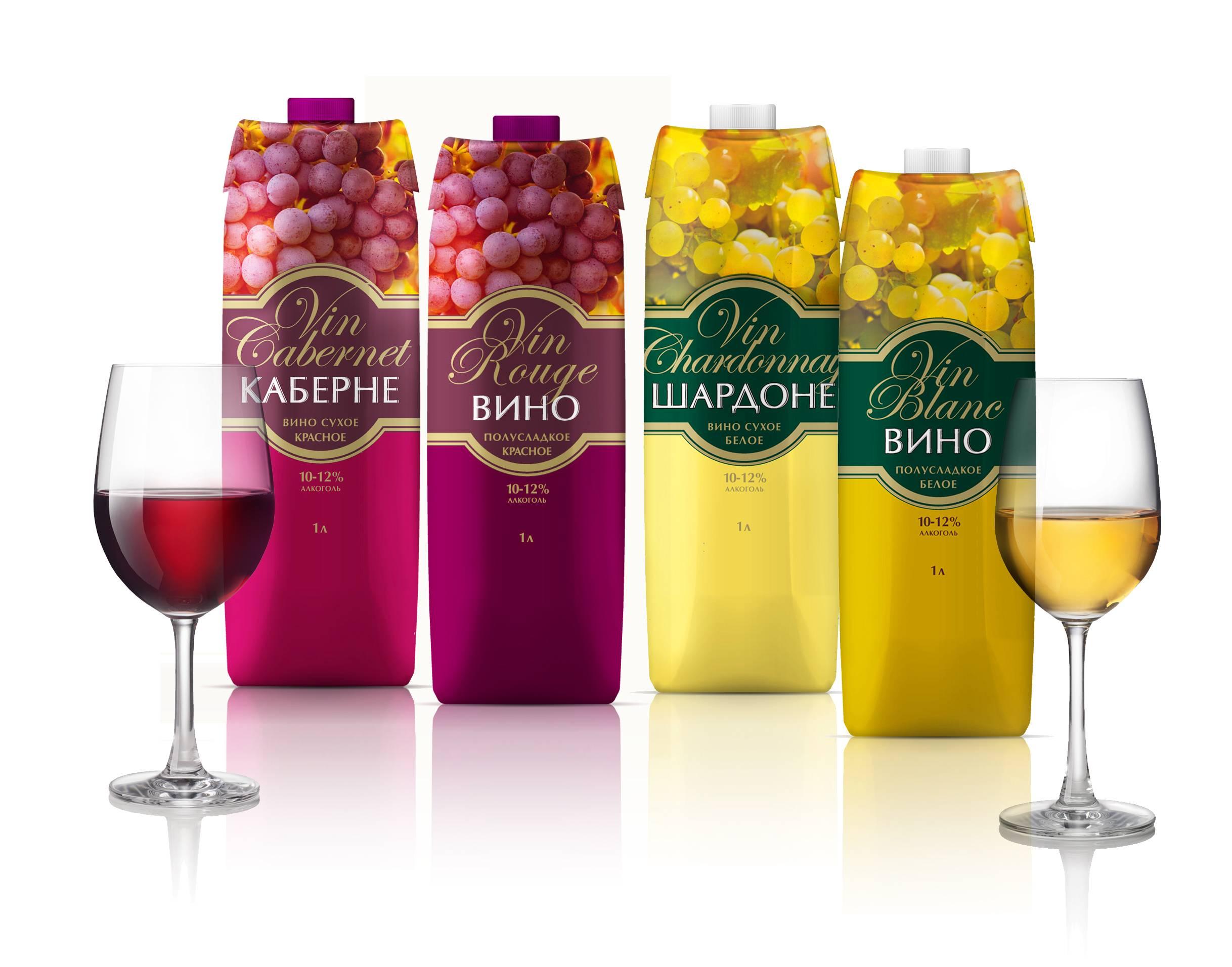 Вино в коробке, тетрапаке, пакете. особенности и отличия