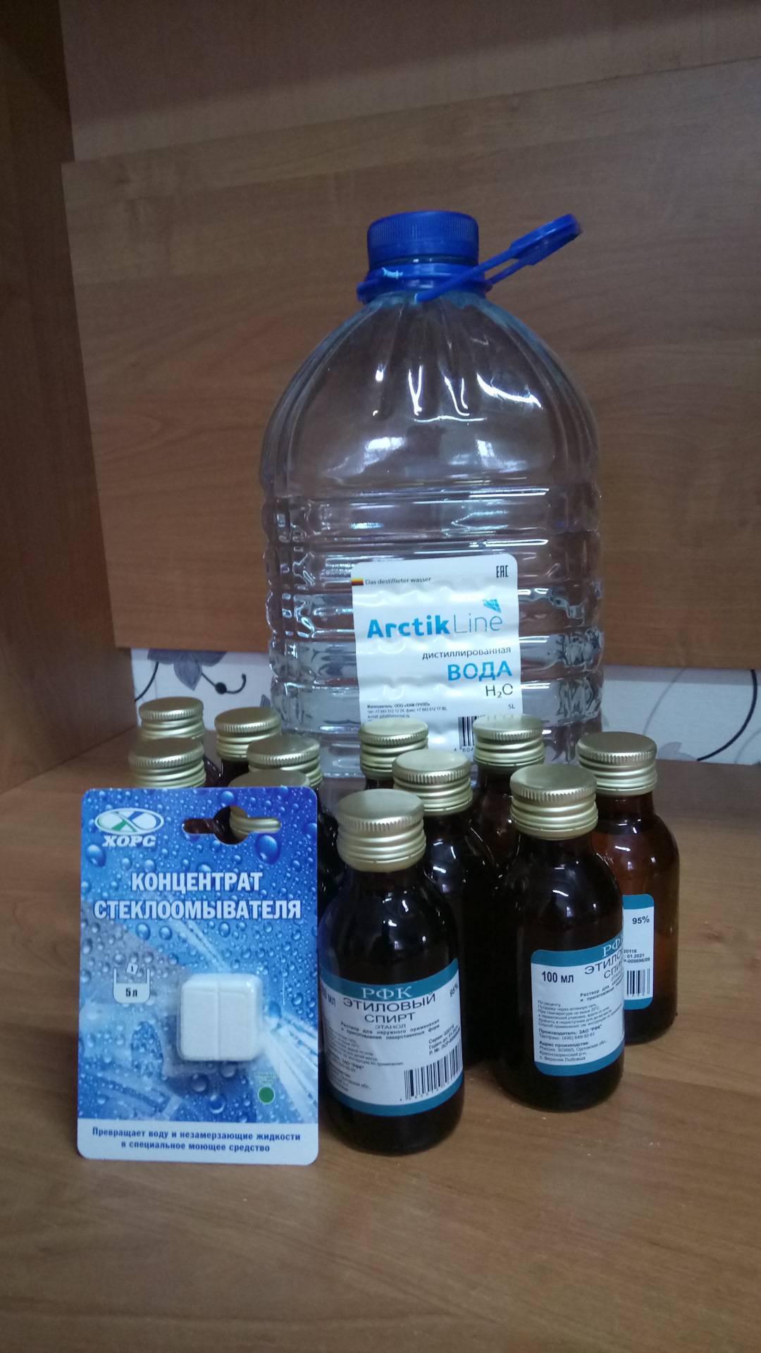 Спирт этиловый рецепт приготовления в домашних условиях