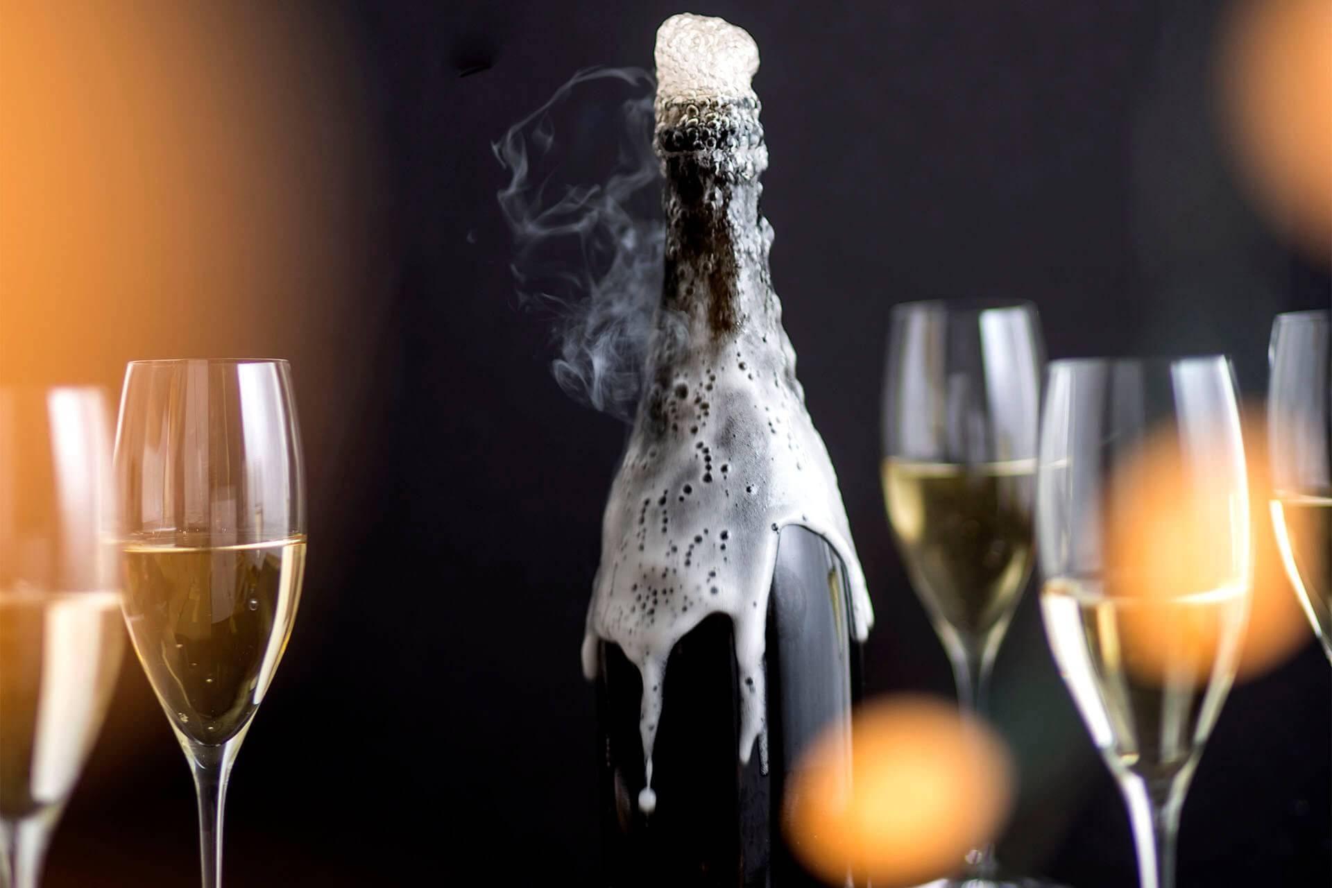 Сколько спирта в бутылке шампанского | wine & water