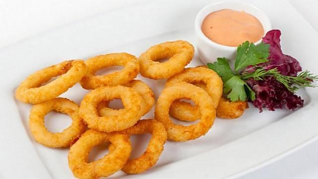 Луковые кольца в кляре. рецепты, как приготовить пошагово с фото