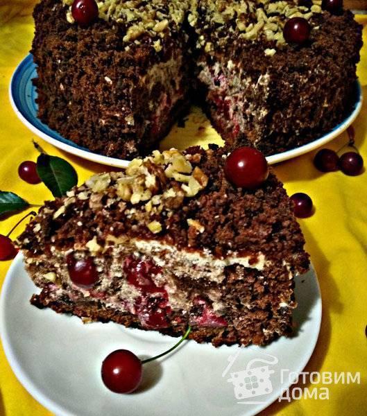 "Торт ""пьяная вишня"" – кулинарный рецепт"