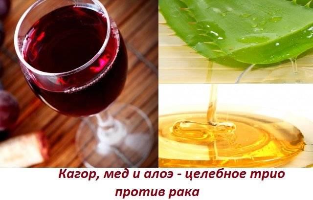 Вино мед и алоэ от простатита свечи с ромашкой от простатита