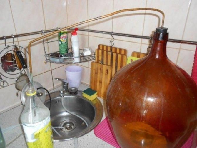 Приготовление самогона из крахмала