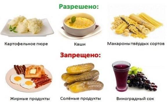 Полезные и вредные продукты при хроническом панкреатите