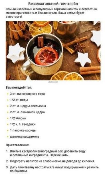 Глинтвейн, рецепт приготовления в домашних условиях