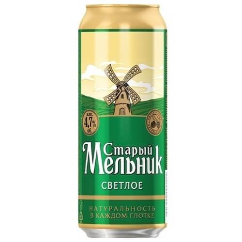 Старый мельник: пиво из бочонка мягкое, темное, светлое, безалкогольное и другие разновидности