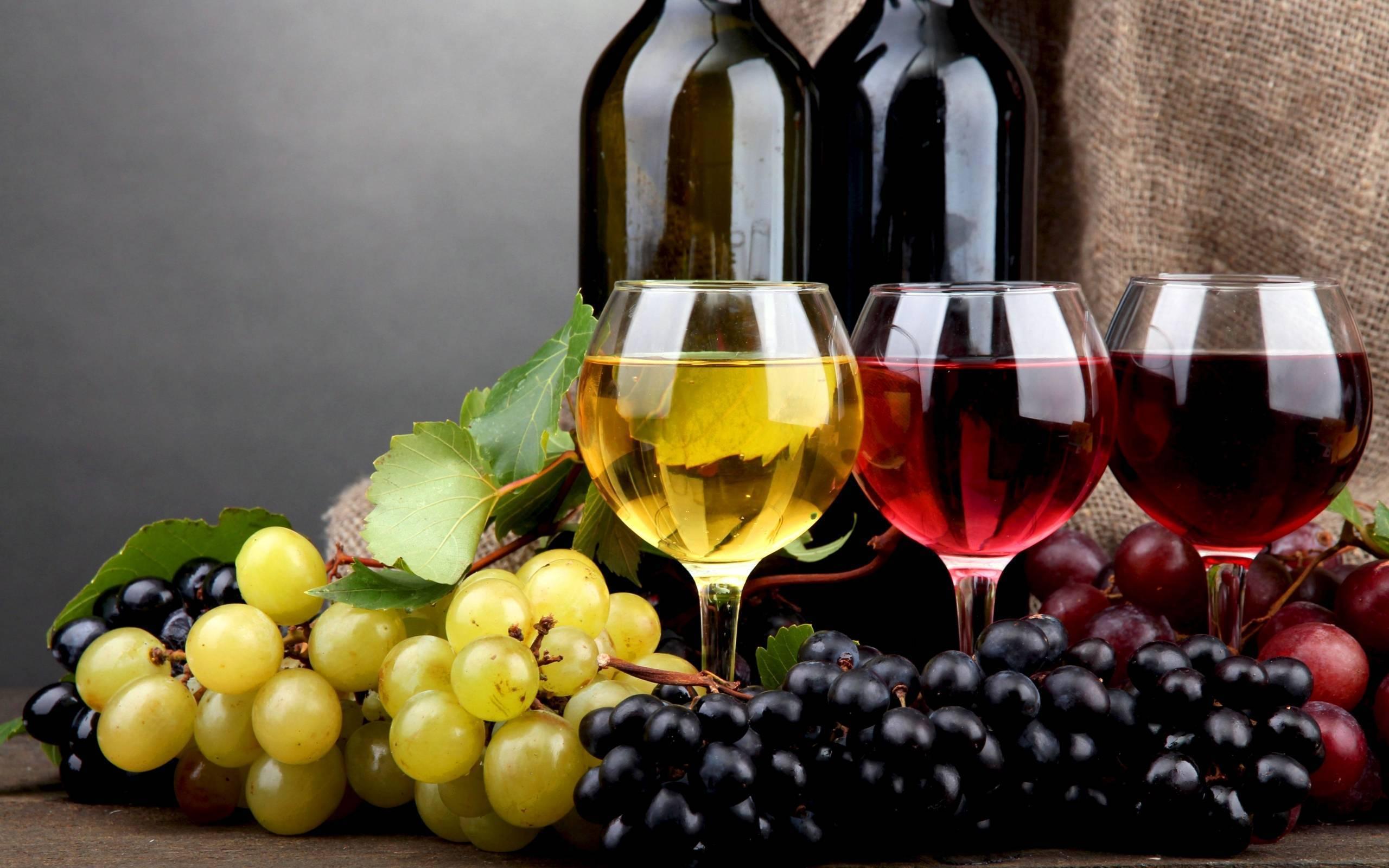 Какой он, белый виноград: сорта для производства различных напитков