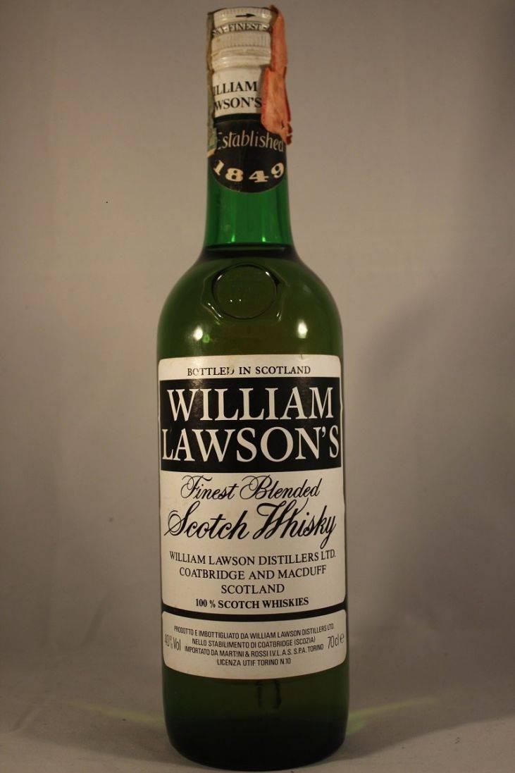 William lawson's (вильям лоусонс) — история и особенности виски, как отличить подделку?