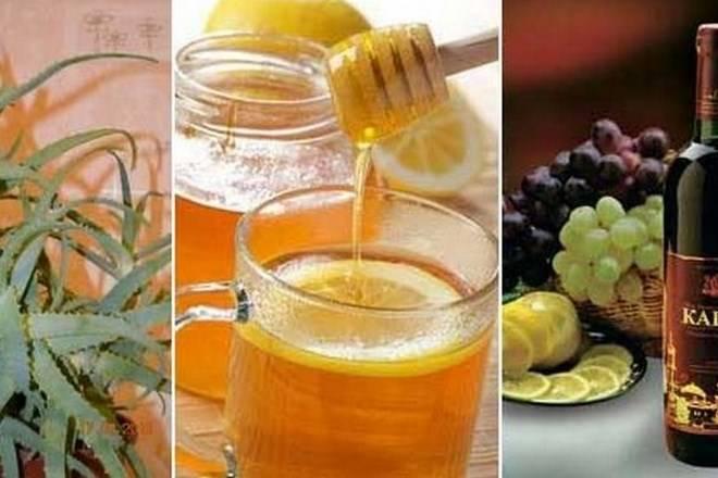 Рецепт алоэ с медом и кагором – как приготовить и принимать