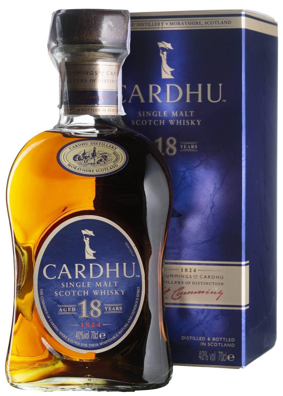 Виски cardhu (карду) — описание вкусовых качеств, стоимость в россии