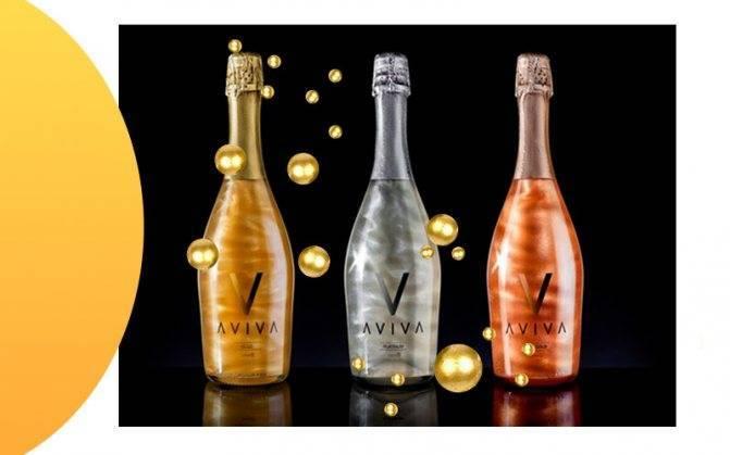 Шампанское aviva (авива) и его особенности