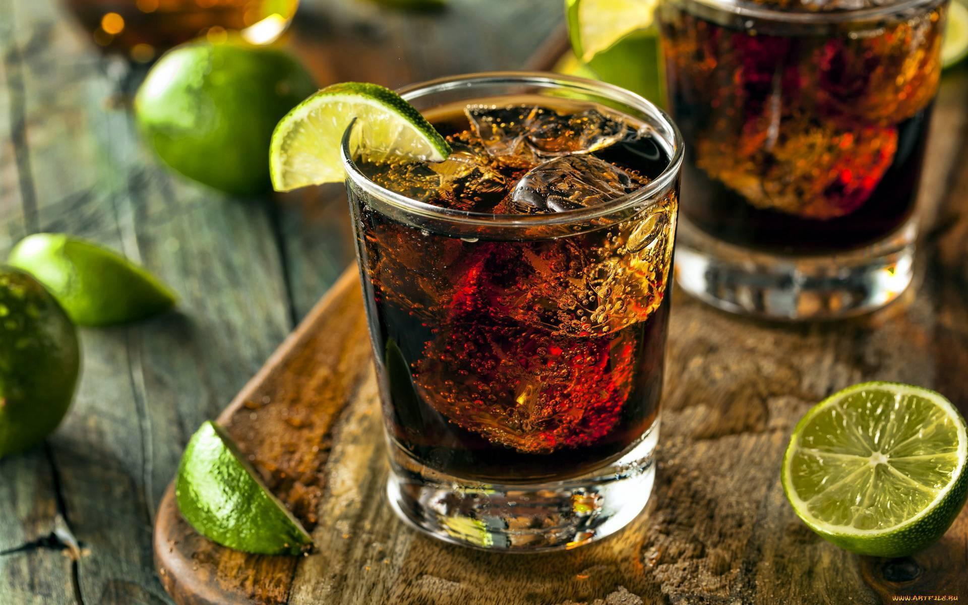 Сочетание ликеров с другими напитками
