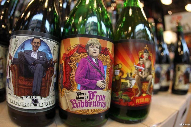Любимая марка пива Путина