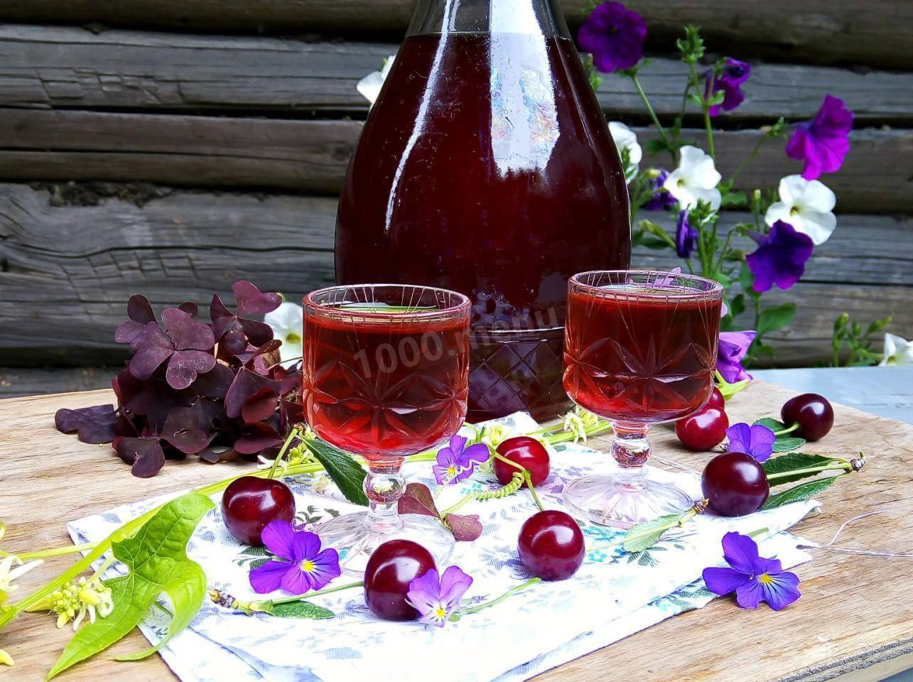 Ликер из вишни в домашних условиях: топ-5 рецептов