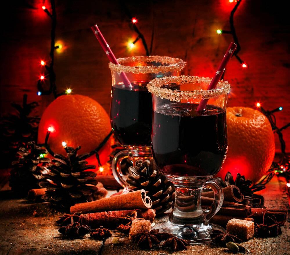 Рождественские горячие напитки.