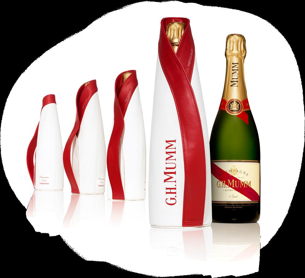 Знаменитое шампанское mumm