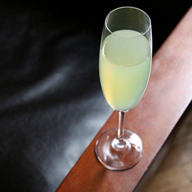 «зеленая фея» — коктейль для гурманов