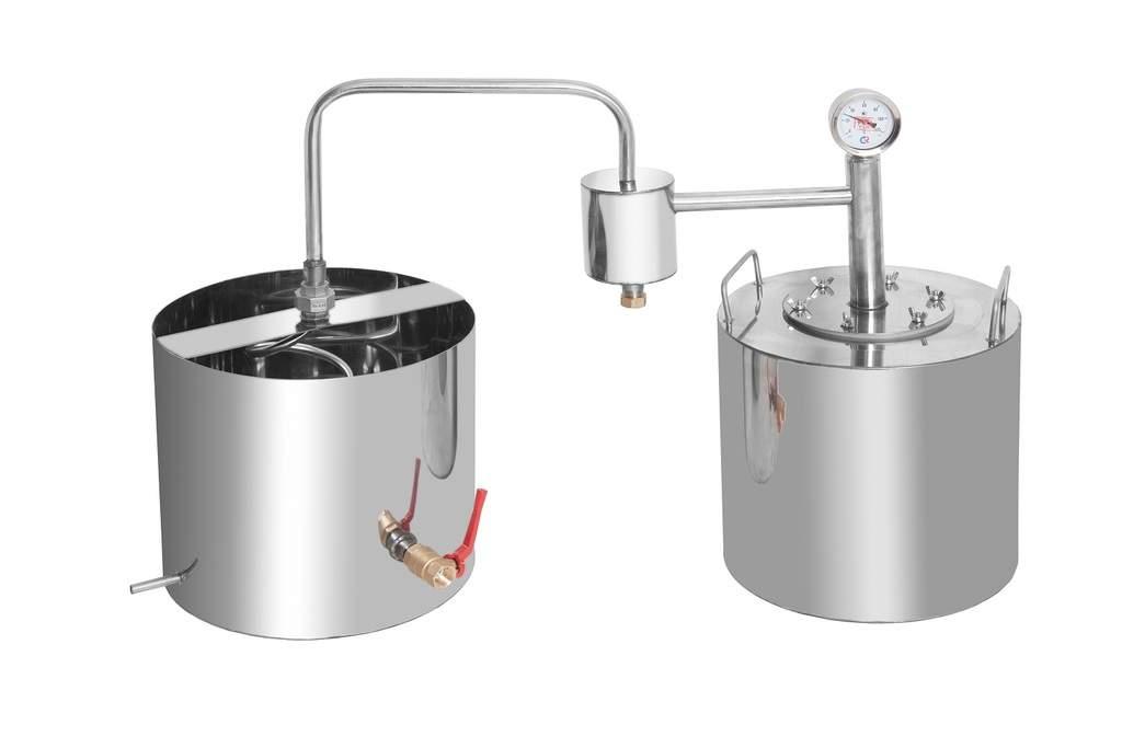 Самогонные аппараты без проточной воды - принцип действия