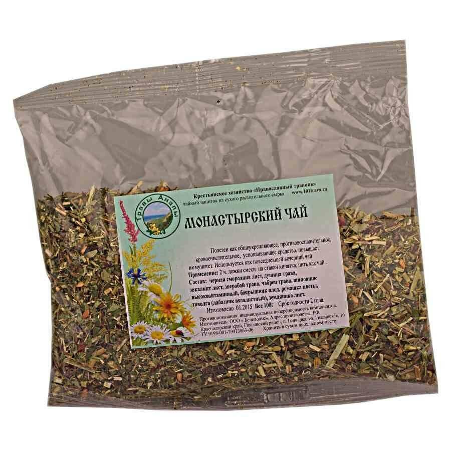 белорусский монастырский чай от простатита состав трав