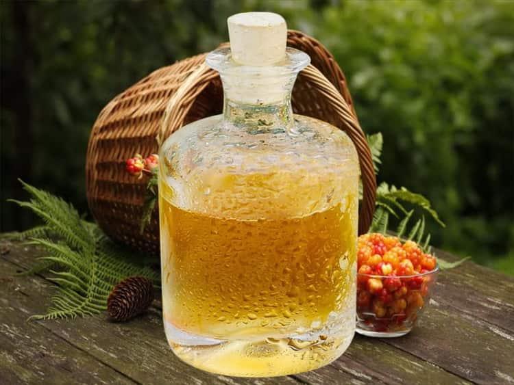 Настойка и наливка из малины на водке, самогоне и спирту
