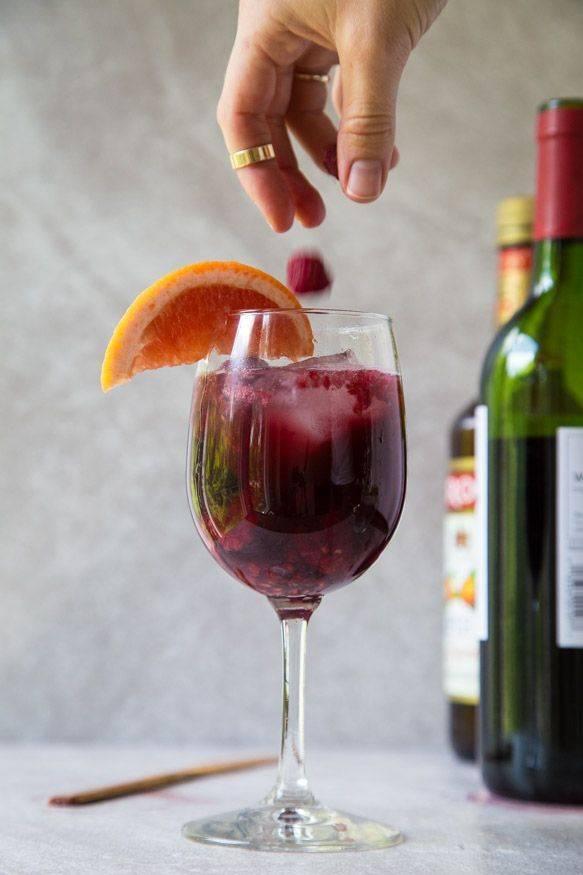 """5 самых ярких вариантов коктейля """"сангрия"""""""