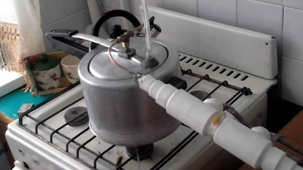 Изготовление самогонного аппарата при помощи скороварки