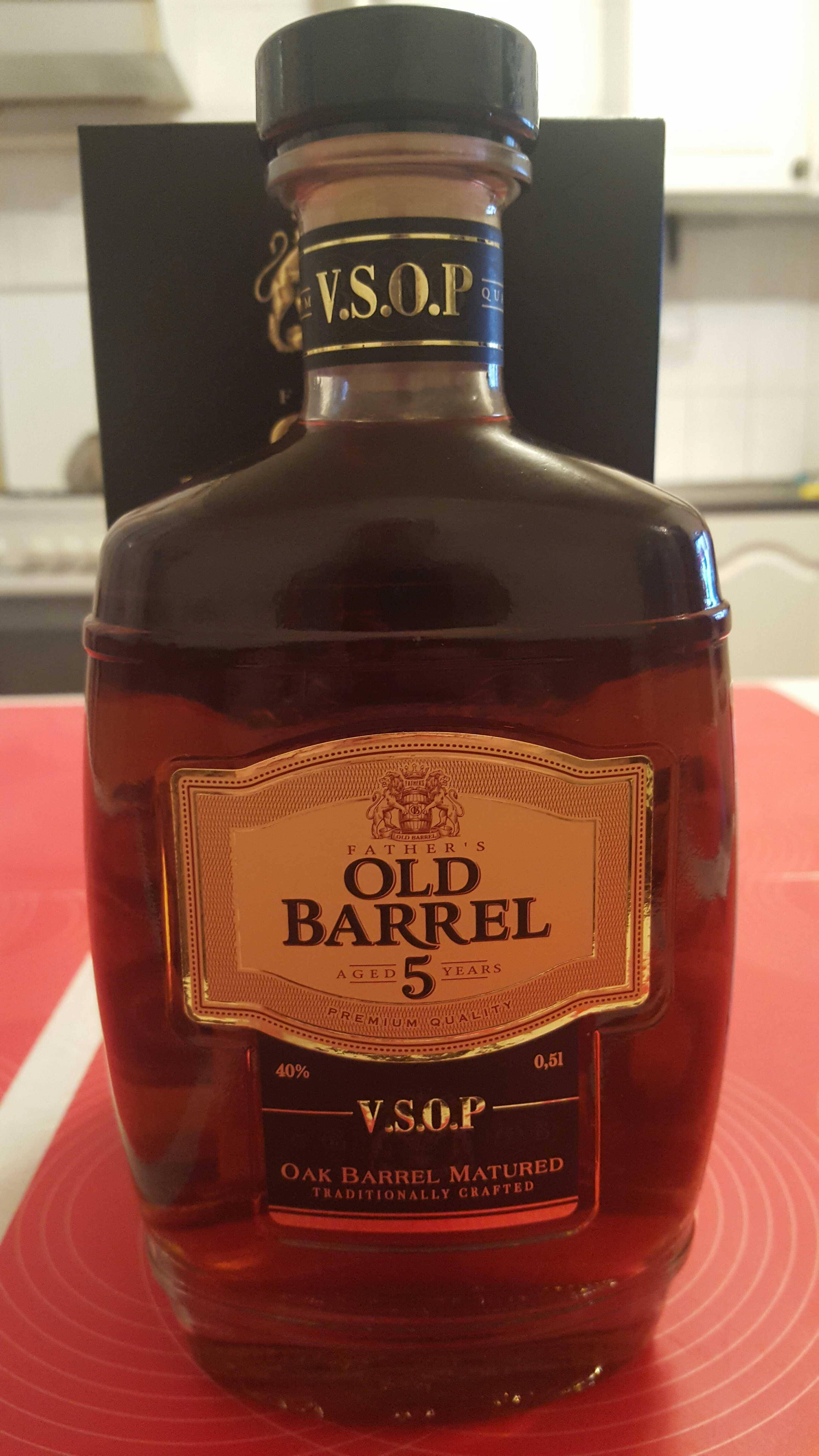 Коньяк father's old barrel (фазерс олд баррель) – описание