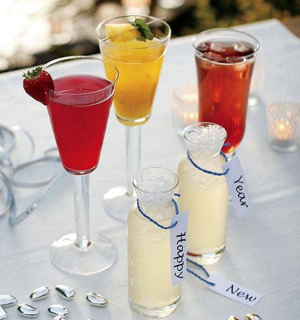 Безалкогольные напитки - рецепты