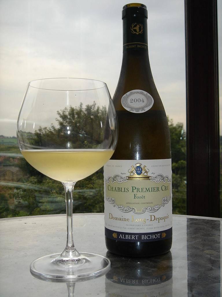 Шабли — благородное сухое французское вино
