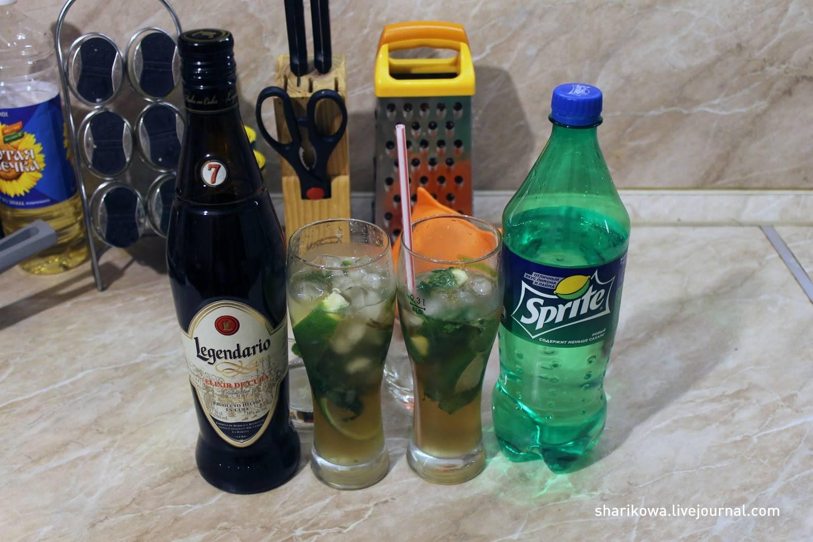 Мохито рецепт алкогольный с водкой в домашних условиях