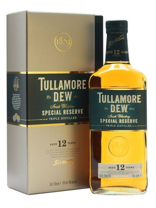 Обзор виски Tullamore Dew