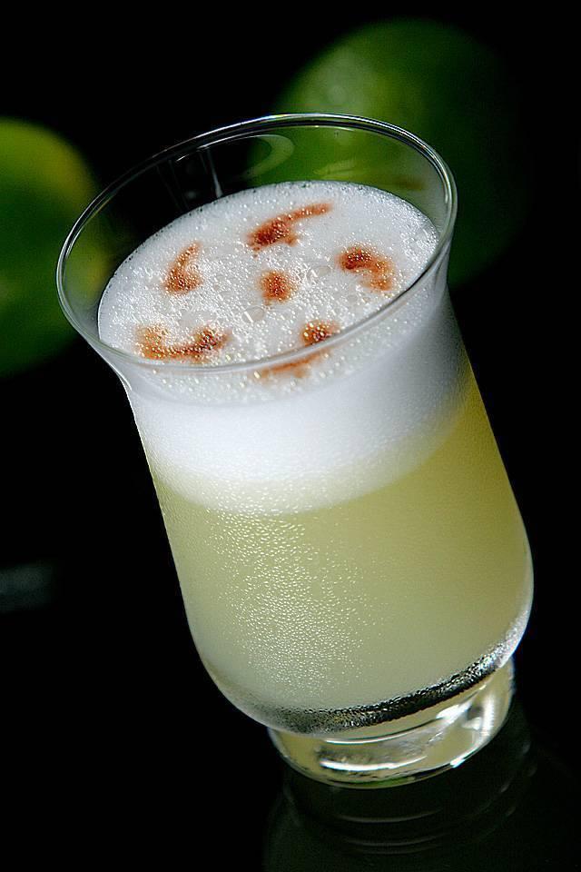 Рецепты приготовления коктейля писко сауэр