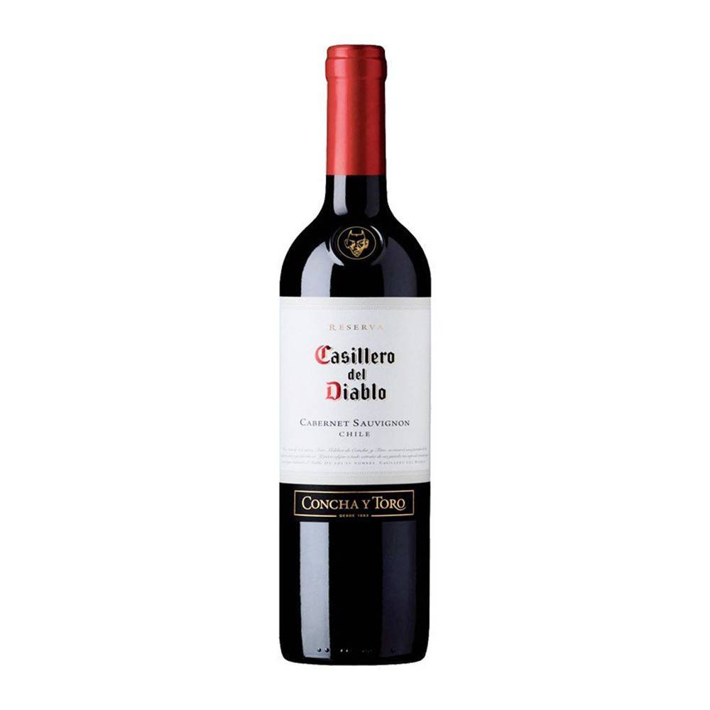 «casillero del diablo cabernet sauvignon» – красное чилийское вино + видео   наливали