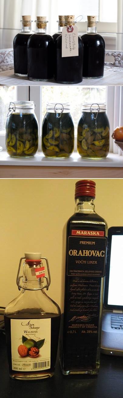 Ореховый ликер: 5 рецептов в домашних условиях