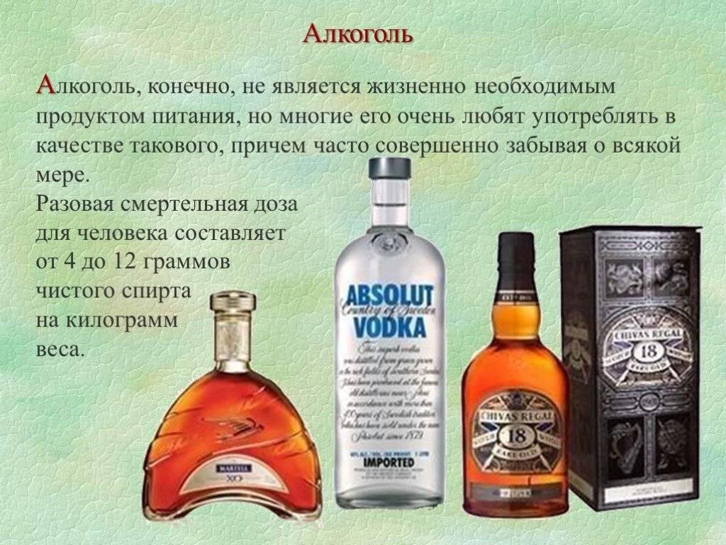 Какова смертельная доза алкоголя, водки в промилле и литрах для человека?