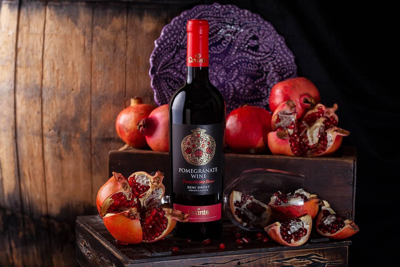 Гранатовое вино- польза и вред напитка, какое лучше и с чем пить