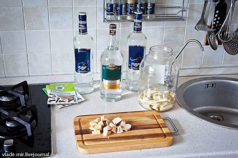 Рецепт приготовления хреновухи в домашних условиях
