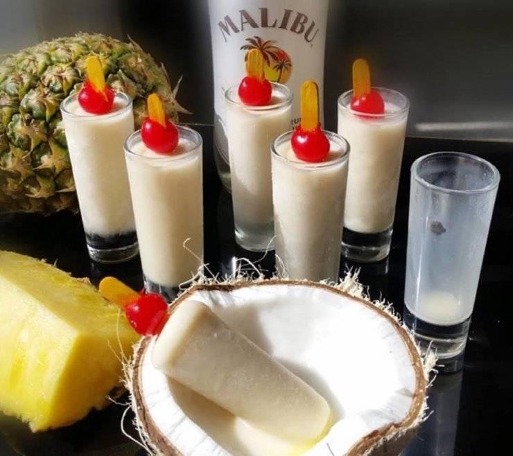 Как приготовить коктейль пина колада по пошаговому рецепту с фото