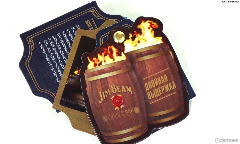 Обзор виски бурбон Джим Бим дабл оак