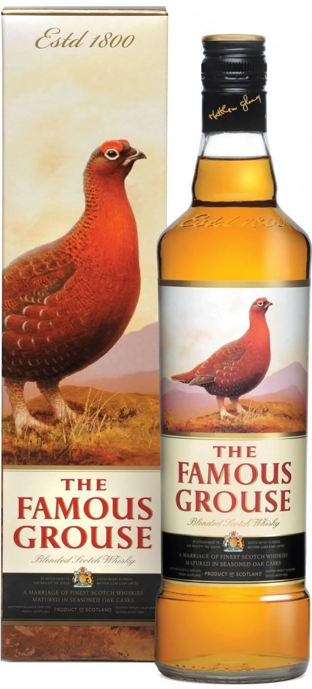 Обзор виски Famous Grouse