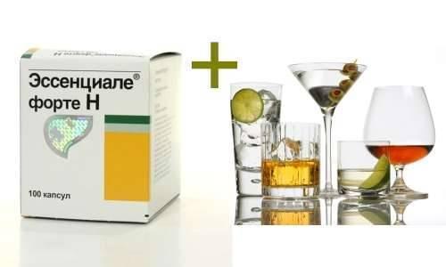 Эссенциале и алкоголь совместимость отзывы - 1001 салат