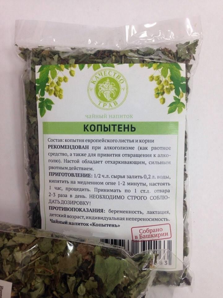 Копытень европейский от алкоголизма: рецепты настойки и отвара с корнем растения, а также отзывы | suhoy.guru