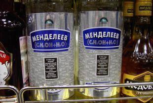 Кириллица    «это не рецепт водки»: зачем менделеев смешивал спирт и воду на самом деле