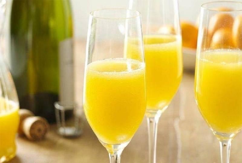 Рецепт коктейля апельсинового «мимоза»