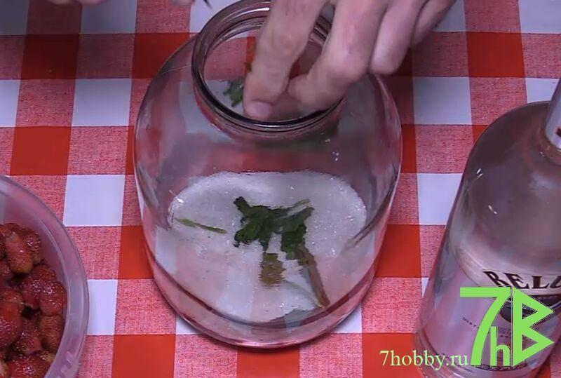 Наливка из клубники в домашних условиях - 8 рецептов настойки